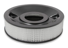 "Load image into Gallery viewer, 4150 Drop Base Air Cleaner Black w/4"" Paper Filter - 120-4245"