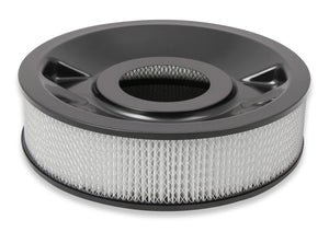 "4150 Drop Base Air Cleaner Black w/4"" Paper Filter - 120-4245"