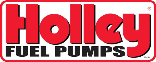 Holley Fuel Pumps Decal - 36-258