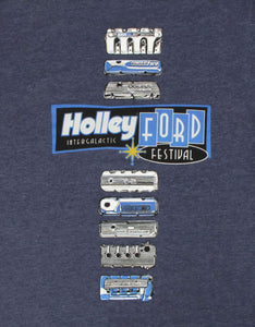 Holley Ford Fest Valve Cover T-Shirt - 10236-SMHOL
