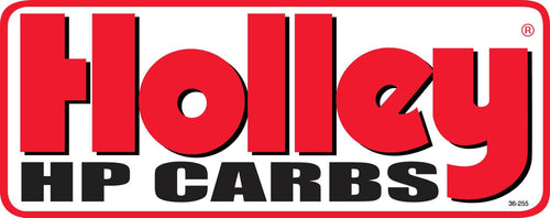 Holley HP Carbs Decal - 36-255
