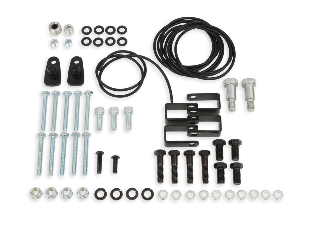 HARDWARE KIT FOR SPLIT INTAKE-SILVER - 508-31