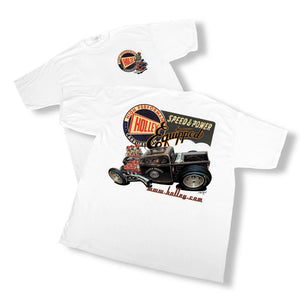 Holley Retro T-Shirt - 10000-LGHOL