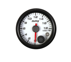 Holley Analog Style Voltage Gauge - 26-603W