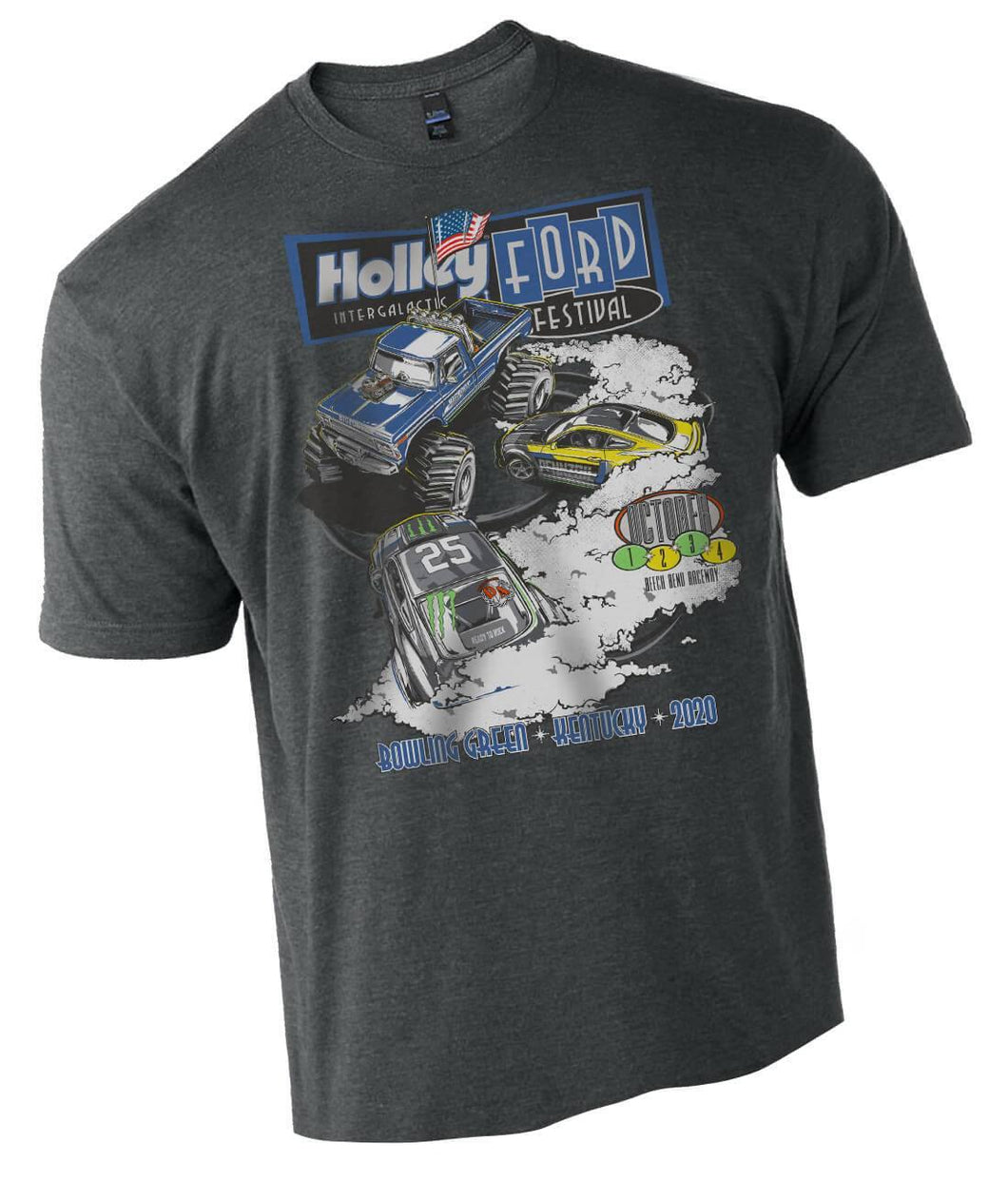 2020 Ford Fest Big Foot Toddler Tee - Large logo on front only. - 10275-4THOL