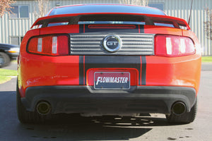 2011-2012 Ford Mustang Axle-Back Exhaust System Flowmaster FlowFX 717879