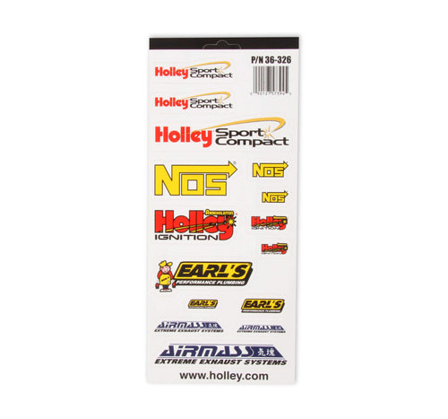 Holley Sport Compact Decals - 36-326