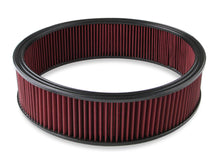 "Load image into Gallery viewer, Air Filter - Replacement - 16"" x 4"" - Red Washable Gauze Filter - 220-40"