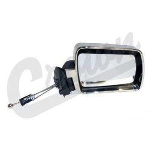 Crown Automotive - Metal Chrome Mirror - 55034120 - Modern Day Muffler