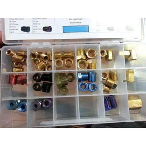 Tube Fitting Kit 56 Pieces SAE - SAE1
