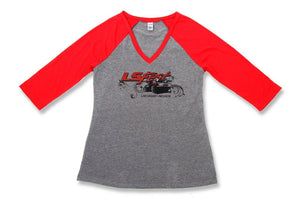 Holley LS Fest Ladies\' Baseball T-Shirt - 10136-2XHOL