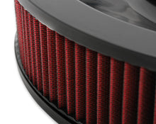 "Load image into Gallery viewer, 4500 drop base air cleaner black w/3"" red washable gauze filter - 120-4630"