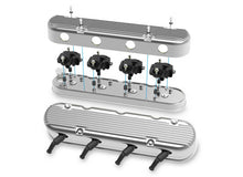 Load image into Gallery viewer, 2-Pc LS Finned Valve Covers - Polished Finish - 241-181