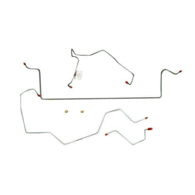 03-05 Jeep Liberty Front Brake Line Kit No ABS