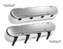 "Load image into Gallery viewer, 2-Pc LS ""Chevrolet"" Script Valve Covers - Polished Finish - 241-176"
