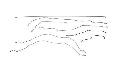 01-07 Chevrolet Silverado 2500 HD Brake Line Kit Reg Cab/Long  Stainless Steel