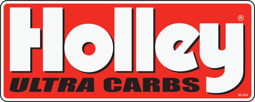 Holley Ultra Carbs Decal - 36-394