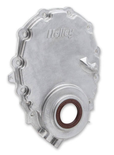 Holley Cast Aluminum Timing Chain Cover - 21-152 - Modern Day Muffler