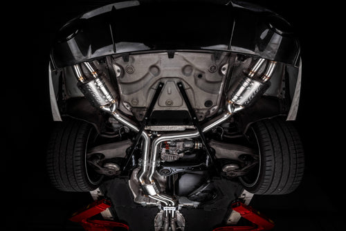 APR Catback Exhaust System w/ Center Muffler - 4.0 TFSI - C7 RS6 and RS7 CBK0015