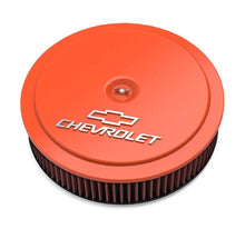 Load image into Gallery viewer, GM Muscle Series Air Cleaner - Factory Orange Machined - 120-224