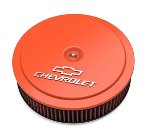 GM Muscle Series Air Cleaner - Factory Orange Machined - 120-224