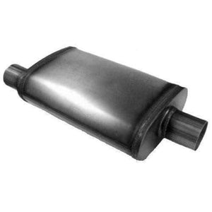 "Jones Exhaust Max Flow Oval Muffler 3"" In/Out MF2259"