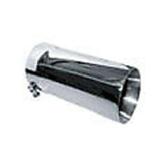 "4"" Dual Wall Pencil Jones Stainless Steel Exhaust Tip PBDWPT5012-4SS"
