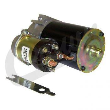 Crown Automotive - Metal Black Starter - 53002124 - Modern Day Muffler
