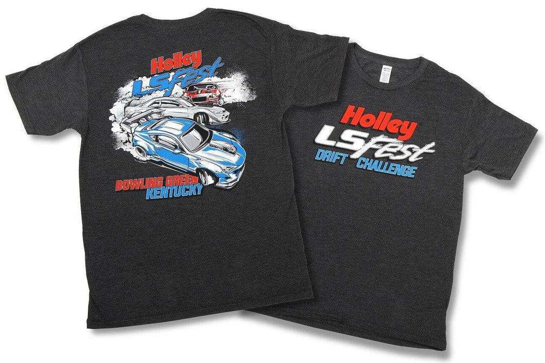Holley LS Fest Drift Challenge T-Shirt - 10121-XXLHOL