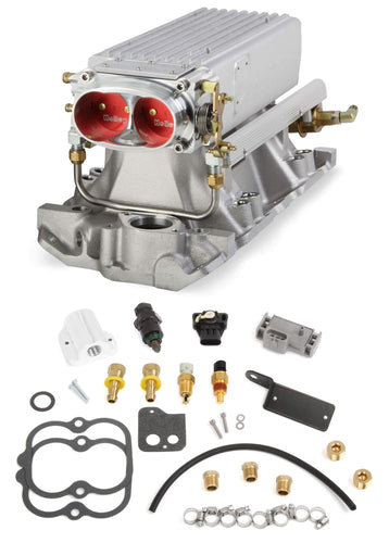 Small Block Chevy Stealth Ram Multi-Port Power Pack kit Early/Late heads 550-707