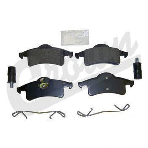 Crown Automotive - Metal Black Brake Pad Service Kit - 5011970MK - Modern Day Muffler