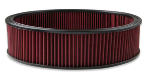 "Air Filter - Replacement - 16"" x 4"" - Red Washable Gauze Filter - 220-40"