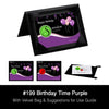 Birthday Time Purple Standard Product