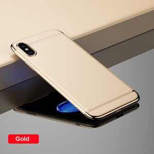 iPhone X: 3 in 1 Ultra-Slim Case (Hard Cover)