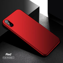 iPhone X: Ultra-Slim Phone Case (Multiple Colors)