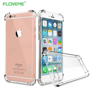 iPhone X: (Transparent) Case Soft Cover