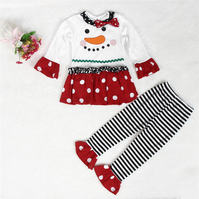 Kid's Snowman T-Shirt and Leggings