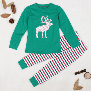 Kid's Reindeer Pajamas