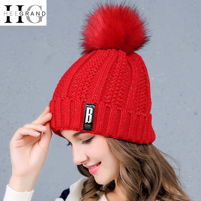 Women's Knitted Beanie