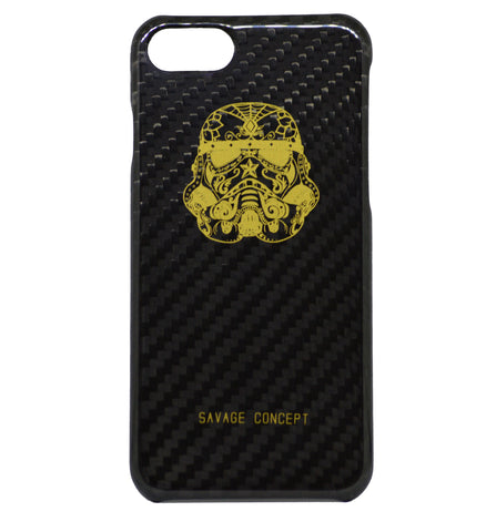 Stormtrooper iPhone 7 & 8 carbon fiber case - Savage Concept
