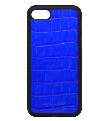 Blue Croc iPhone 7 & 8 Case - Savage Concept