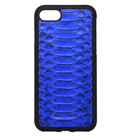 Blue Python iPhone 7 & 8 case - Savage Concept