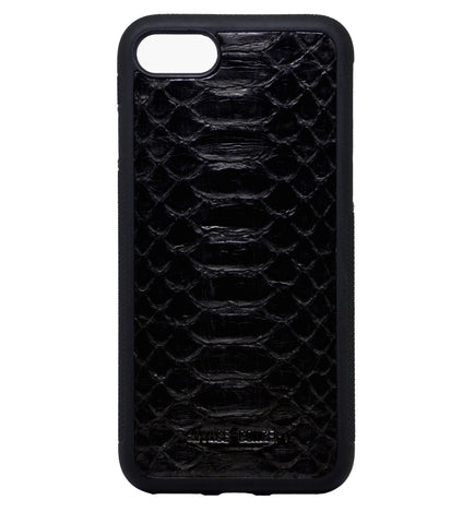 Black Python iPhone 7 & 8 case - Savage Concept