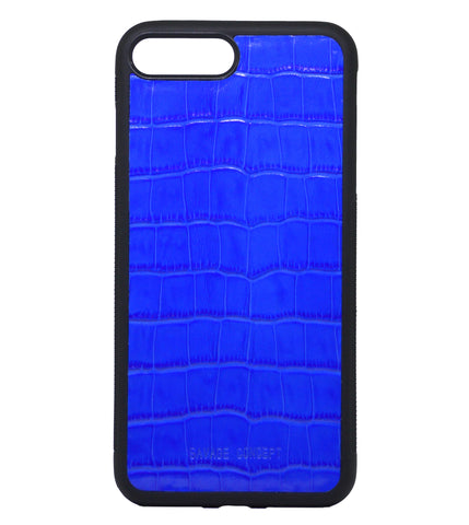 Blue Croc iPhone 7 Plus & 8 Plus case - Savage Concept