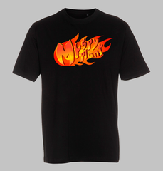 MrSpyplant Sort Flamme T-Shirt