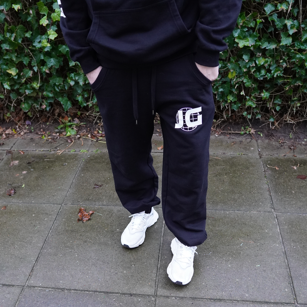 Johnni Gade Sort Sweatpants