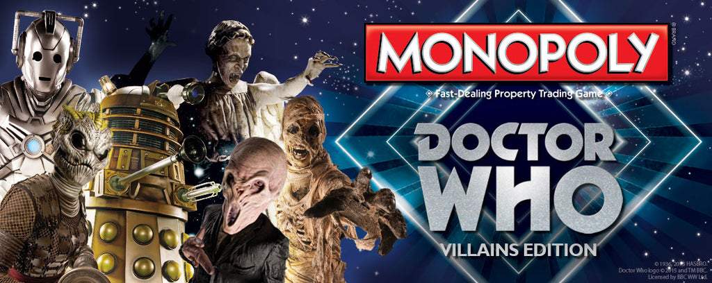 Monopoly: Doctor Who Villians Edition