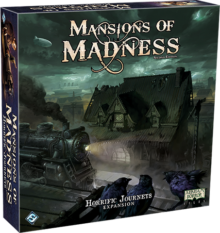 Mansions of Madness - Horrific Journeys - Game Box Front