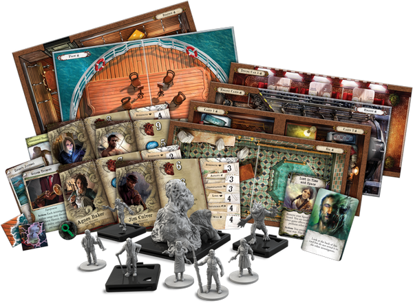 Mansions of Madness - Horrific Journeys - Game Contents