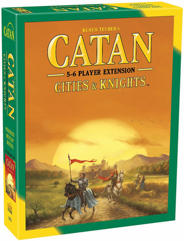 Settlers of Catan: Cities & Knights Expansion (5-6 Player Extension)